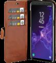VALENTA Classic Luxe - Pour Samsung Galaxy S9+ - Marron foncé