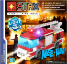 LIGHT STAX® Light up Fire Truck - LEGO®-kompatibel - 165 Steine - Multicolor