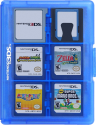 HORI Game Card Case - für Nintendo 3DS - Blau