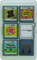 HORI Game Card Case - für Nintendo 3DS - Transparent