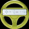 HORI Mario Kart 8 Wheel - Zelda - für Nintendo Wii U - Gold