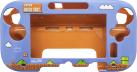 HORI Mario Gamepad Protector - Wii U - Blau