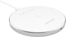 SATECHI Wireless Qi Charging Pad - Pad di ricarica Qi - Per la ricarica wireless - Argento