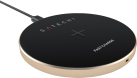 SATECHI Wireless Qi Charging Pad - Pad di ricarica Qi - Per la ricarica wireless - Oro