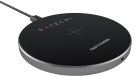 SATECHI Wireless Qi Charging Pad - Pad di ricarica Qi - Per la ricarica wireless - Grigio scuro