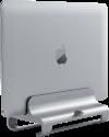 SATECHI Aluminum Vertical Laptop Stand - Vertikaler Laptopständer - Universal - Silber