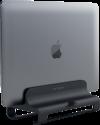 SATECHI Aluminum Vertical Laptop Stand - Vertikaler Laptopständer - Universal - Schwarz