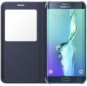 Samsung Galaxy S6 Edge+ S View Cover, blu / nero