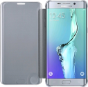 Samsung Galaxy S6 Edge+ Clear View Cover, argent