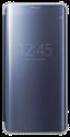 Samsung Galaxy S6 Edge+ Clear View Cover, blau/schwarz