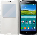 SAMSUNG Galaxy S5 S-View Cover, weiss