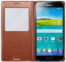 SAMSUNG Galaxy S5 S-View Cover, rose gold
