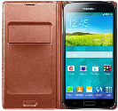 SAMSUNG Galaxy S5 Flip Wallet, rose gold