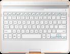 SAMSUNG  GALAXY Tab S 10.5 Keyboard, dazzling white