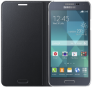SAMSUNG Galaxy Alpha Flip Cover, schwarz