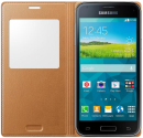 SAMSUNG Galaxy S5 Mini S View Cover, gold