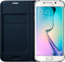 SAMSUNG GALAXY S6 Edge Flip Cover, noir