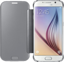 SAMSUNG GALAXY S6 Clear View Cover, silber