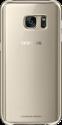 SAMSUNG Clear Cover EF-QG930, für Galaxy S7, gold