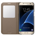 SAMSUNG S View Cover EF-CG935, per Galaxy S7 edge, oro