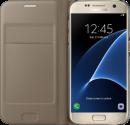 SAMSUNG Flip Wallet EF-WG930, für Galaxy S7, gold