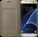 SAMSUNG Flip Wallet EF-WG935, für Galaxy S7 edge, gold
