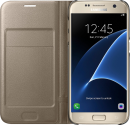 SAMSUNG LED View Cover EF-NG930, für Galaxy S7, gold