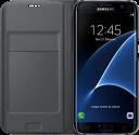SAMSUNG Flip Wallet EF-WG935, für Galaxy S7 edge, schwarz