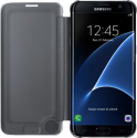 SAMSUNG Clear View Cover EF-ZG935, per Galaxy S7 edge, nero