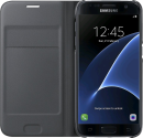 SAMSUNG Flip Wallet EF-WG930, für Galaxy S7, schwarz