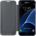 SAMSUNG Clear View Cover EF-ZG930 pour Galaxy S7, noir