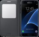 SAMSUNG S View Cover EF-CG930, für Galaxy S7, schwarz