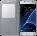 SAMSUNG S View Cover EF-CG930, für Galaxy S7, silber