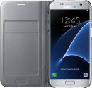 SAMSUNG LED View Cover EF-NG930, für Galaxy S7, silber