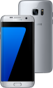 SAMSUNG Galaxy S7 Edge - Android Smartphone - 32 GB Speicher - Silber