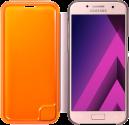 SAMSUNG Neon Flip Cover - Für Galaxy A3 (2017) - Pink