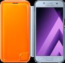 SAMSUNG Neon Flip Cover - Per Galaxy A3 (2017) - Blu