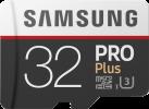 SAMSUNG Pro Plus - microSDXC - 32 Go - Blanc/Noir