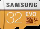 SAMSUNG Evo - microSDHC - 32 GB - Bianco/Giallo