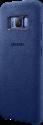 SAMSUNG Alcantara Cover S8 - Bleu