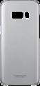 SAMSUNG Galaxy S8+ Hülle - Klar/Schwarz