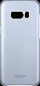 SAMSUNG Galaxy S8+ étui - Transparent/Bleu