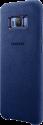 SAMSUNG Alcantara Cover S8 PLUS - Blau