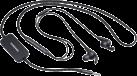 SAMSUNG High End Stereo - Universal-Headset - 13 mm Lautsprechereinheit - Schwarz