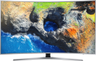 SAMSUNG UE55MU6500UXZG - 4 K Gebogen LCD TV - 55/138 cm - Curved Design - Silber