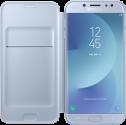 SAMSUNG Wallet Cover - Für Samsung Galaxy J7 (2017) - Blau