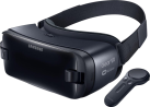 Samsung Gear VR (2017) mit Controller - Virtual-Reality-Brille - Kompatibel ab Galaxy S6 - Schwarz