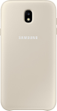 SAMSUNG Dual Layer Cover - Für Galaxy J7 (2017) - Gold