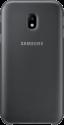 SAMSUNG Dual Layer Cover - Pour Galaxy J3 (2017) - Noir