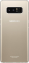 SAMSUNG Clear Cover - Pour Samsung Galaxy Note 8 - Or